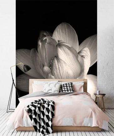 Fotomural Loto en blanco y negro