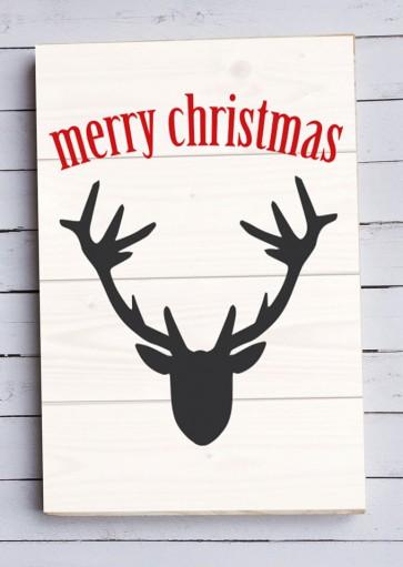 Fotomadera Merry Christmas