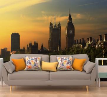 Fotomural amanece en Londres