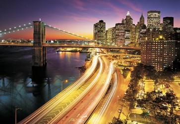 Fotomural New York Lights