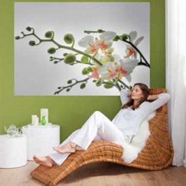 Mini Mural Orquídea