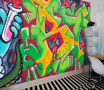 Fotomural street art