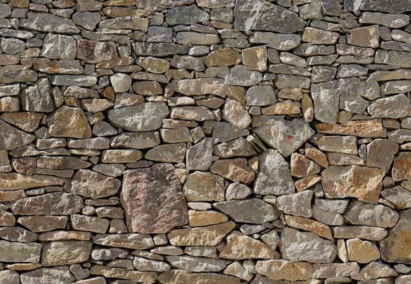 Fotomural pared de piedra tienda online - Pared de piedra ...