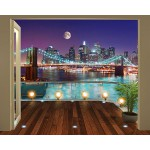 Fotomural Brooklyn Bridge NYC