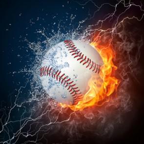 Fotomural Bola de Baseball