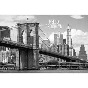 Fotomural Hello Brooklyn
