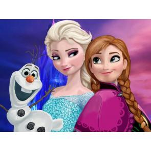 Fotomural Frozen Elsa y Ana