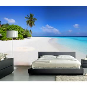 Fotomural Playa Maldivas
