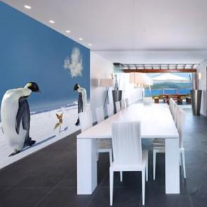 Fotomural Pingüinos