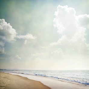 Fotomural Playa vista vintage