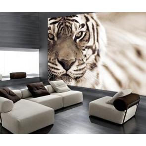 Fotomural Tigre Sepia