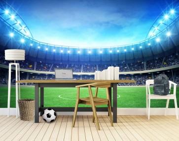 Fotomural Campo de Fútbol