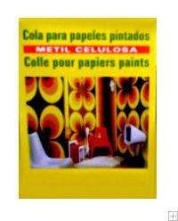 Cola para papel pintado
