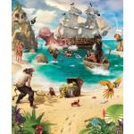 Fotomural Piratas