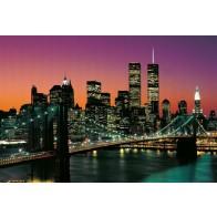 Fotomural Brooklyn Bridge en color