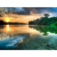 Fotomural lake