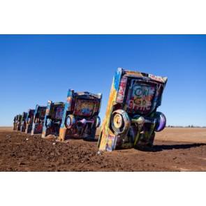 Fotomural Graffiti Cadillac