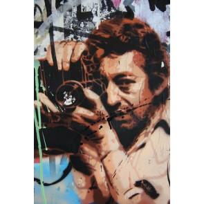 Fotomural Graffiti Gainsbourg