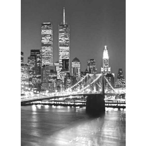 Fotomural Brooklyn bridge -vertical-