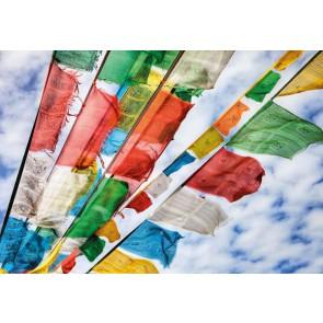 Mini Mural Banderas de Oración