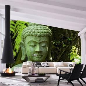 Fotomural Buddha en piedra