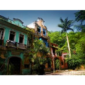 Fotomural Casa abandonada