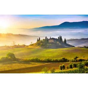 Fotomural puesta de sol Toscana