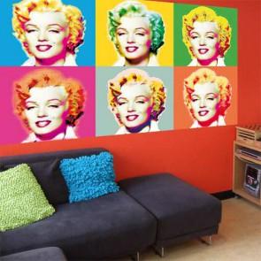 Mini Mural Visions of Marilyn