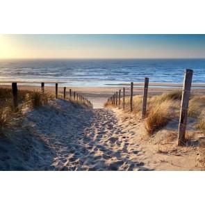 Fotomural playa Mar del Norte