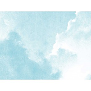 Fotomural Nubes acuarela