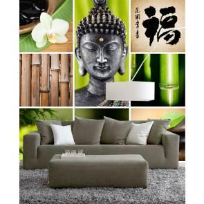 Fotomural Collage Zen