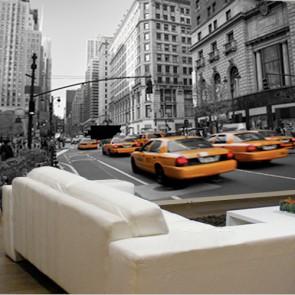 Fotomural Taxis en Manhattan