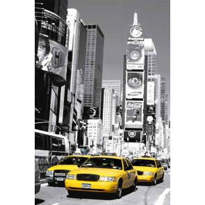Mini Mural Yellow Cab